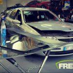 Remplacement de pare-brise sans franchise sur cette Renault Laguna.